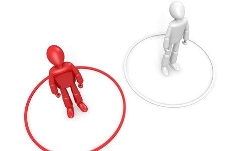 2つのタイプのサイト訪問者が与える影響