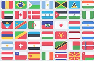 100 Free Flat Flags