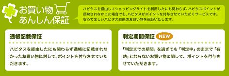 ハピタスの特徴/ユーザーサポート体制の充実