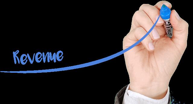 稼ぎを拡大できる成長過程の道筋を示す