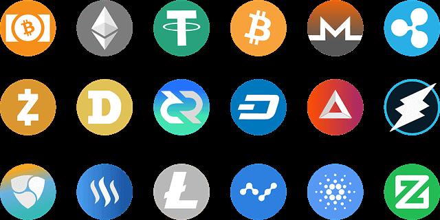 ビットコイン以外の主な仮想通貨の種類